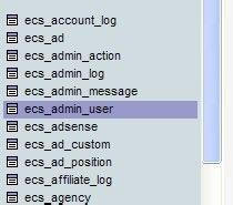 ecshop2.7.3忘记管理员密码怎么办?
