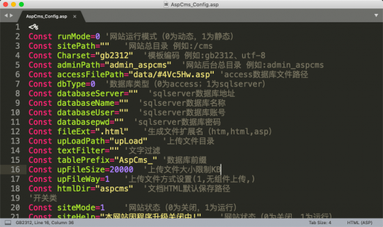 Sublime Text3 中文乱码