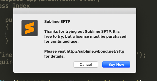 Sublime text3 sftp 破解